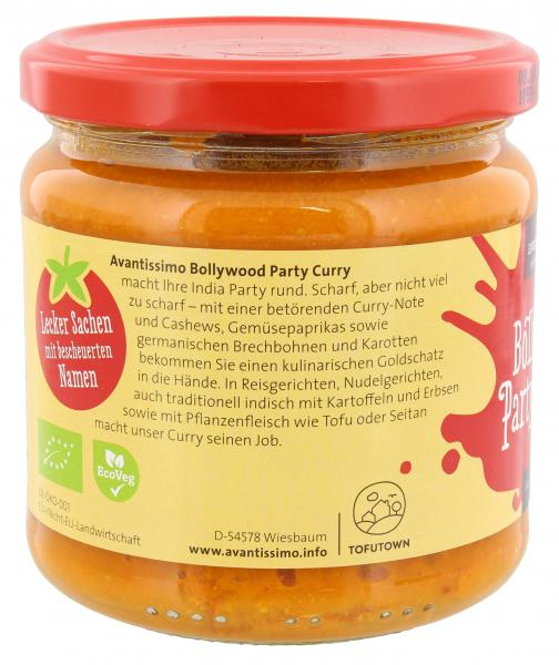 Avantissimo Bio Bollywood Party Curry Sauce