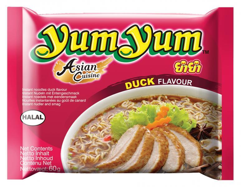 Yum Yum Instantnudeln Ente