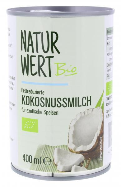 NaturWert Bio Kokosnussmilch
