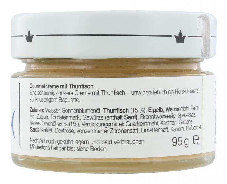 Jürgen Langbein Gourmetcreme Thunfisch