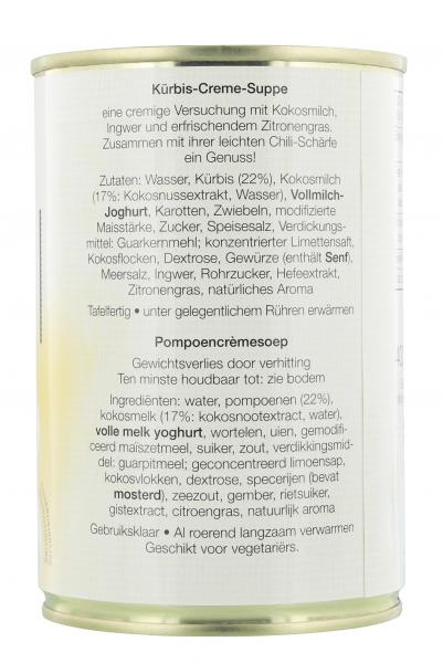 Jürgen Langbein Kürbis-Creme-Suppe