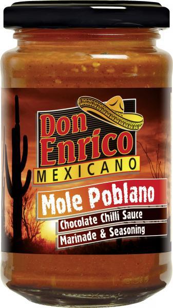 Don Enrico Mexicano Mole Poblano Chocolate Chilli Sauce