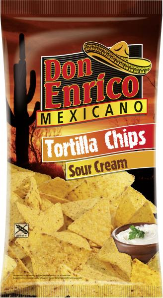 Don Enrico Mexicano Tortilla Chips Sour Cream