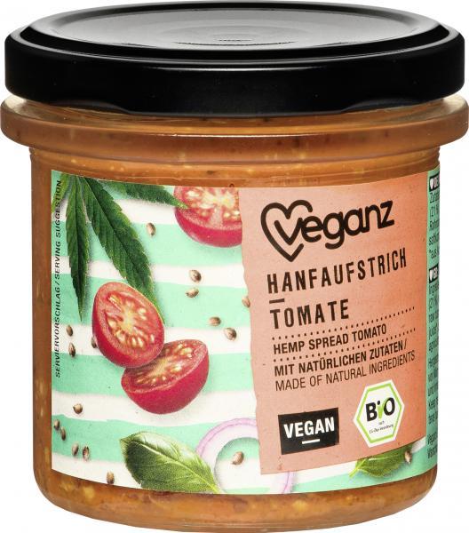 Veganz Hanfaufstrich Tomate