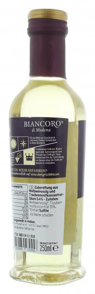 De Nigris Biancoro Condimento Italiana Bianco
