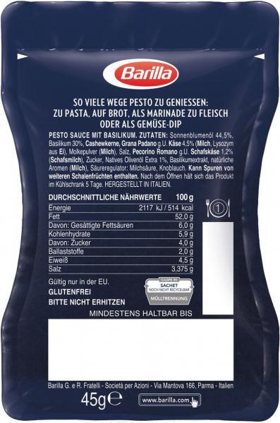 Barilla Pesto alla Genovese Sachet