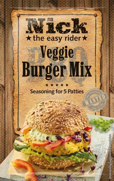 Nick Veggie Burger Mix Würzmischung