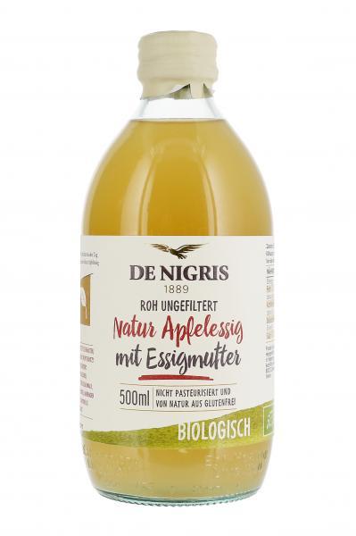 De Nigris Natur Apfelessig mit Essigmutter