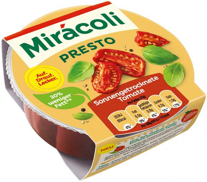 Mirácoli Presto Sauce Tomate