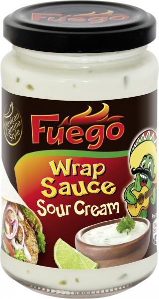 Fuego Wrap Sauce Sour Cream