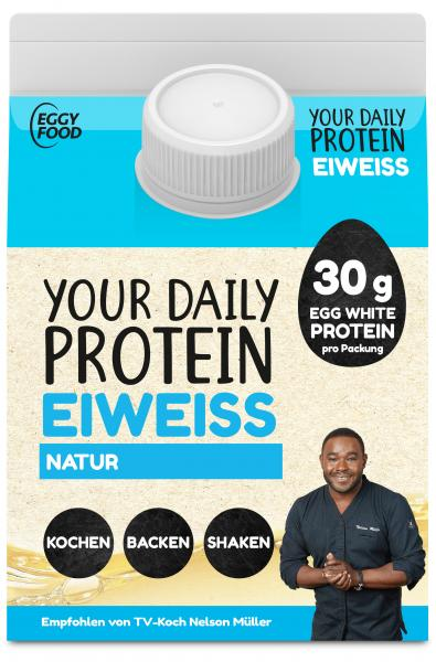 Eggy Food Your Daily Protein Eiweiss natur