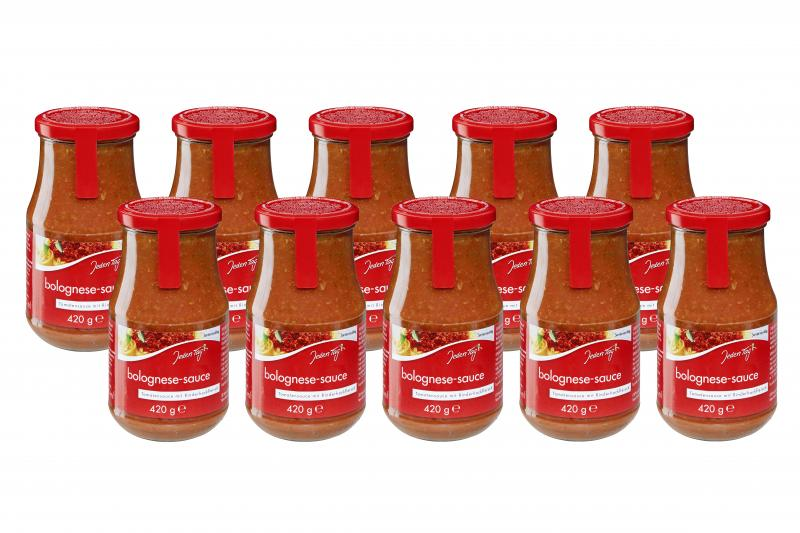 Jeden Tag Nudelsauce Bolognese