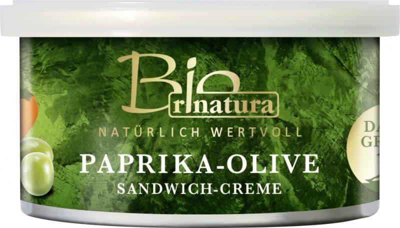 Rinatura Bio Daily Green Sandwich-Creme Paprika-Olive