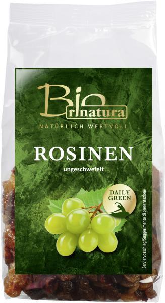 Rinatura Bio Daily Green Rosinen ungeschwefelt