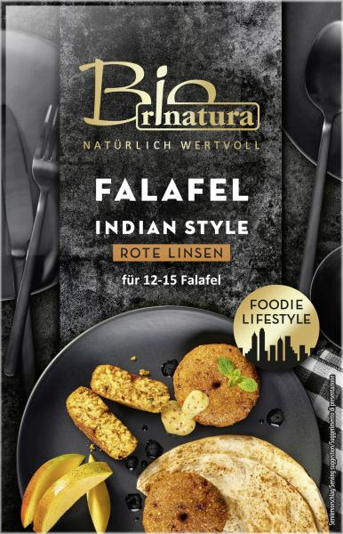 Rinatura Bio Foodie Lifestyle Falafel Indian Style Rote Linsen