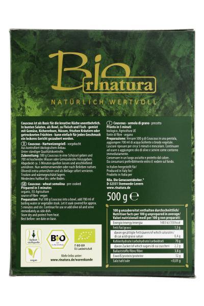 Rinatura Bio Daily Green CousCous