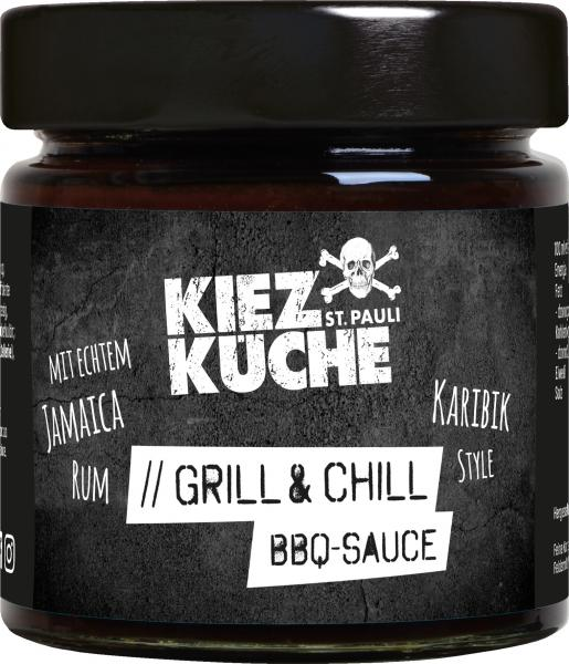 Kiezküche Grill & Chill BBQ-Sauce Karibik Style