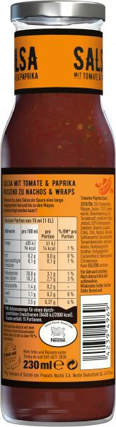 Thomy Salsa mit Tomate & Paprika