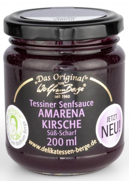 Tessiner Amarena-Kirsche-Senfsauce