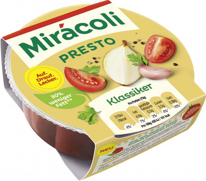 Mirácoli Presto Sauce Klassiker