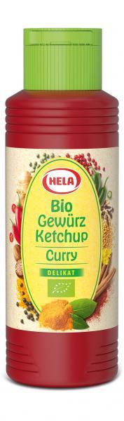 Hela Bio Gewürz Ketchup Curry delikat