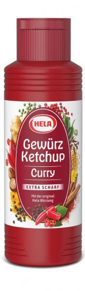 Hela Gewürz Ketchup Curry Extra scharf
