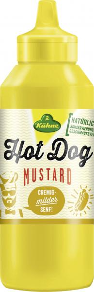Kühne Hot Dog Mustard cremig-mild