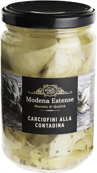 Modena Estense Artischocken Carciofini alla Contadina