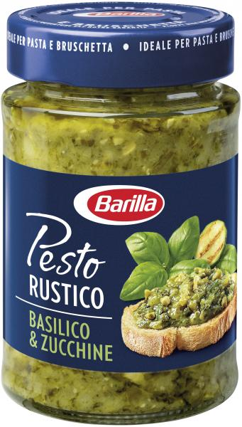 Barilla Pesto Rustico Basilico e Zucchine