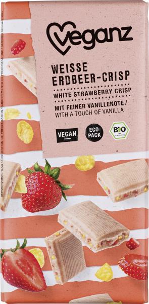 Veganz Weiße Erdbeer Crisp