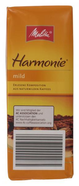 Melitta Harmonie Kaffee mild