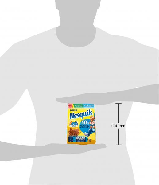 Nestlé Nesquik kakaohaltiges Getränkepulver zuckerreduziert