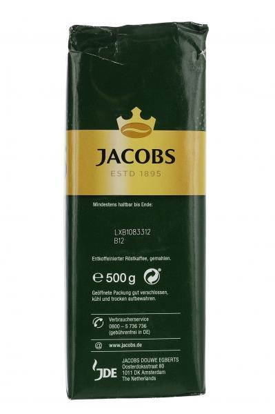 Jacobs Filterkaffee Krönung Entkoffeiniert