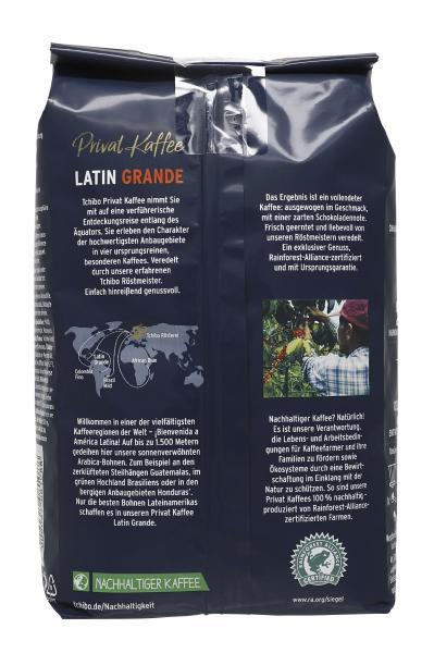 Tchibo Privat Kaffee Guatemala Grande - 500g Ganze Bohne