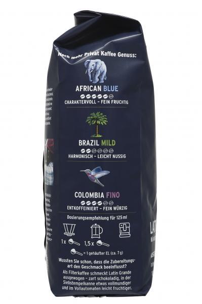 Tchibo Privat Kaffee Latin Grande - 500g Ganze Bohne