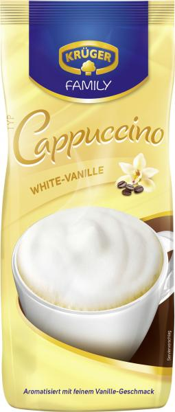 Krüger Family Cappuccino White-Vanille