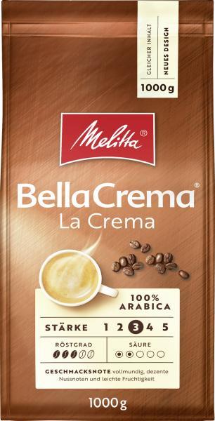Melitta Bella Crema La Crema Ganze Bohne