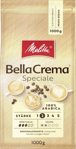Melitta Bella Crema Speciale Bohnen