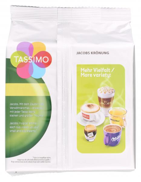 Tassimo Kapseln Jacobs Krönung, 16 Kaffeekapseln