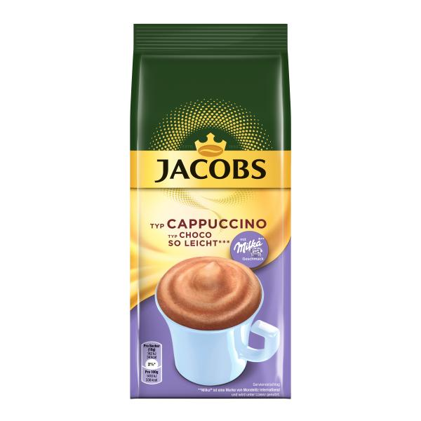 Jacobs Momente Choco Cappuccino So leicht Vorratsbeutel