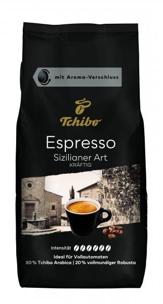 Tchibo Espresso Sizilianer Art - 1kg Ganze Bohne