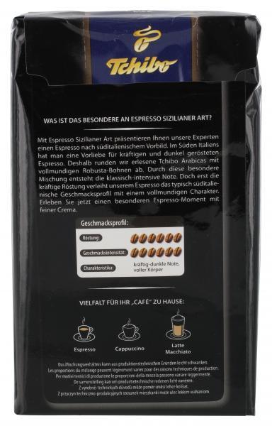 Tchibo Espresso Sizilianer Art - 250g Gemahlen