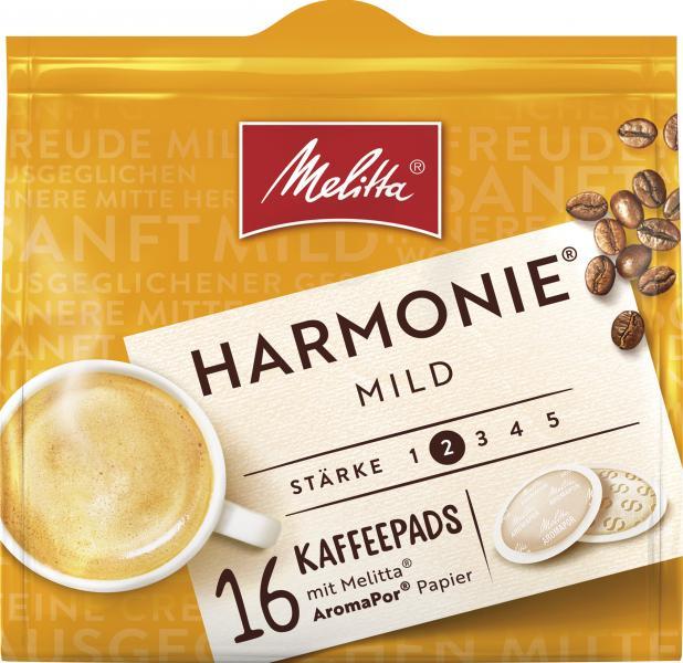 Melitta Harmonie mild Kaffeepads