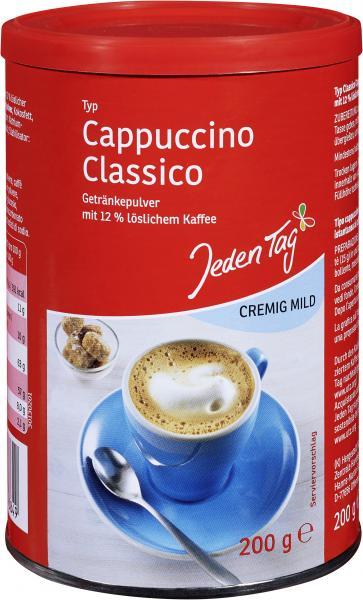 Jeden Tag Cappuccino Classico cremig mild