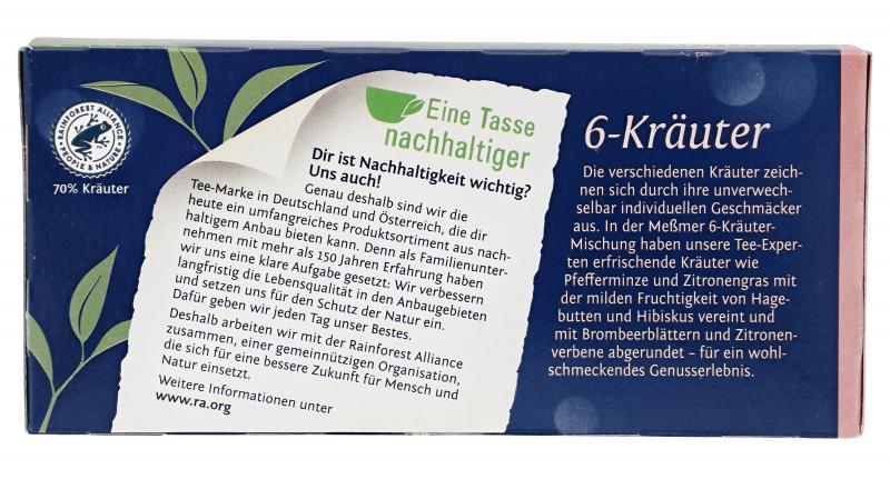 Meßmer 6-Kräuter-Mischung