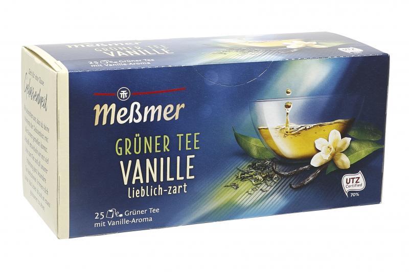 Meßmer Grüner Tee Vanille
