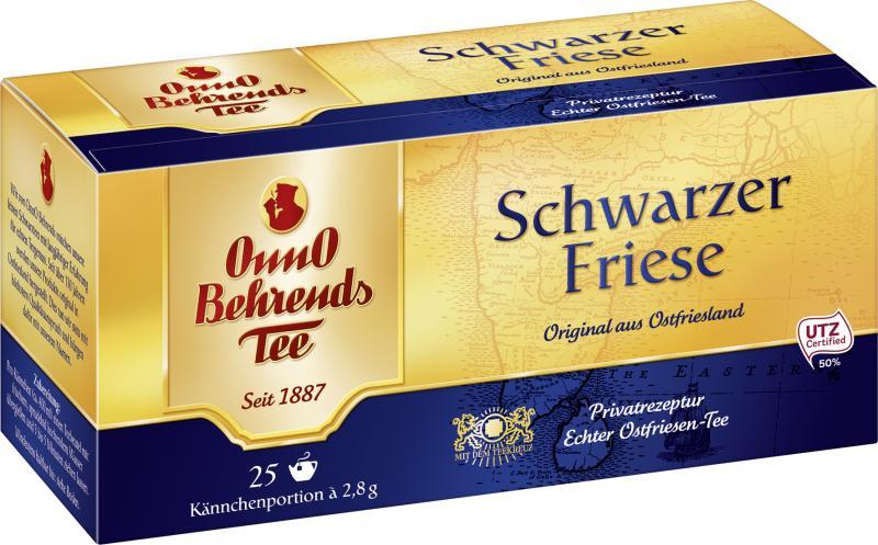 Onno Behrends Schwarzer Friese Kannenbeutel