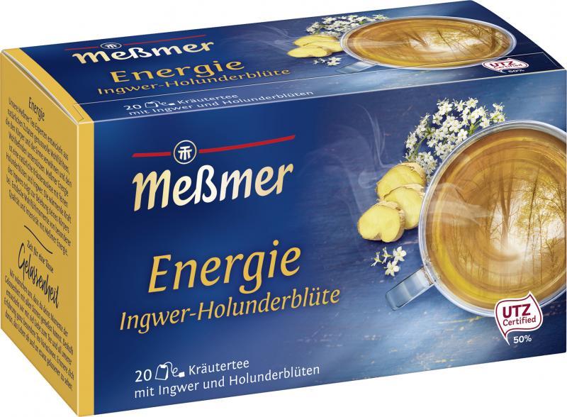 Meßmer Energie Ingwer-Holunderblüte