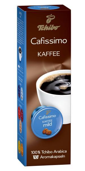 Tchibo Cafissimo Kapseln Kaffee mild - 10 Kapseln