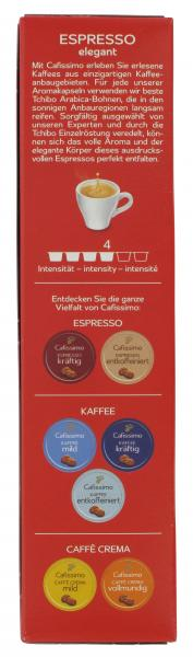 Tchibo Cafissimo Espresso elegant 10 Kapseln